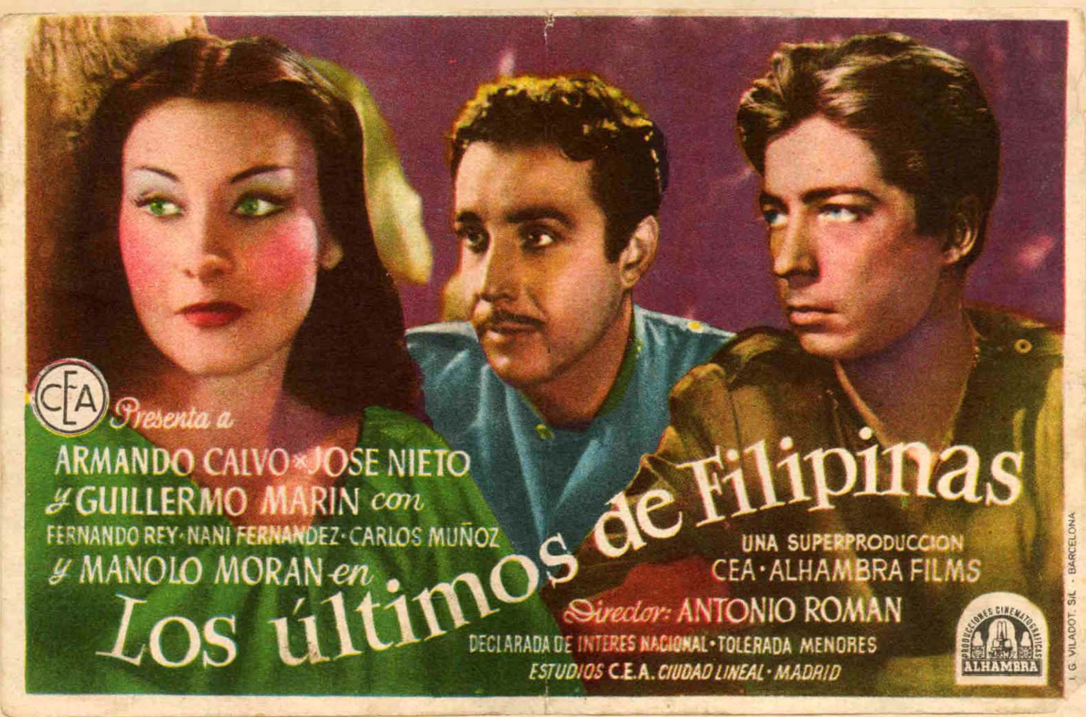 Los ltimos de filipinas for Los ultimos de filipinas pelicula completa youtube