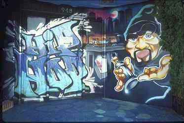 Graffiti Hip hop.