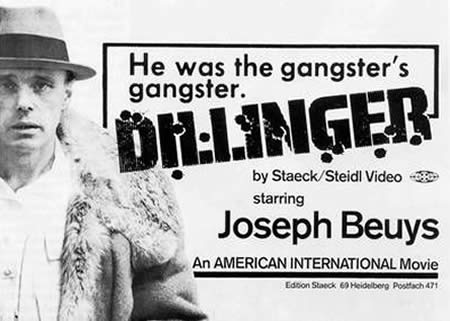 "Promotion poster for the Video ""Dillinger"", 1974"