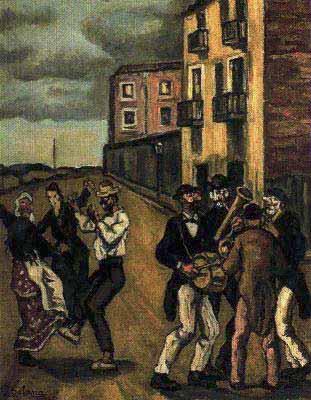 Máscaras, 1938.
