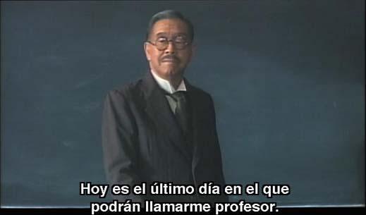 del profesor Uchida, de sus incondicionales alumnos y de los avatares