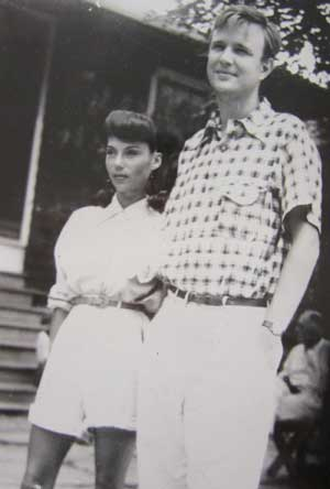 Maria and Robert Motherwell, Black Mountain College, Summer 1945