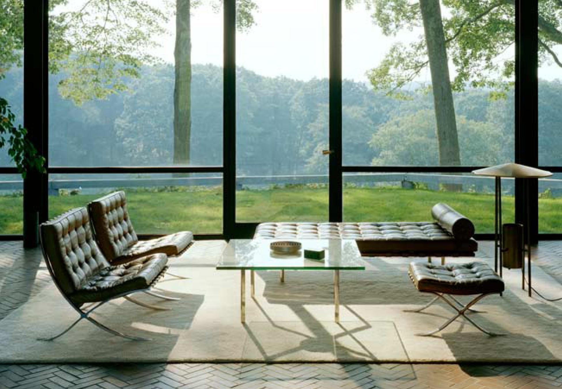 philip johnson. Black Bedroom Furniture Sets. Home Design Ideas