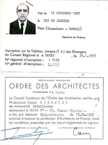 Oscar niemeyer for Bolsa de trabajo arquitecto