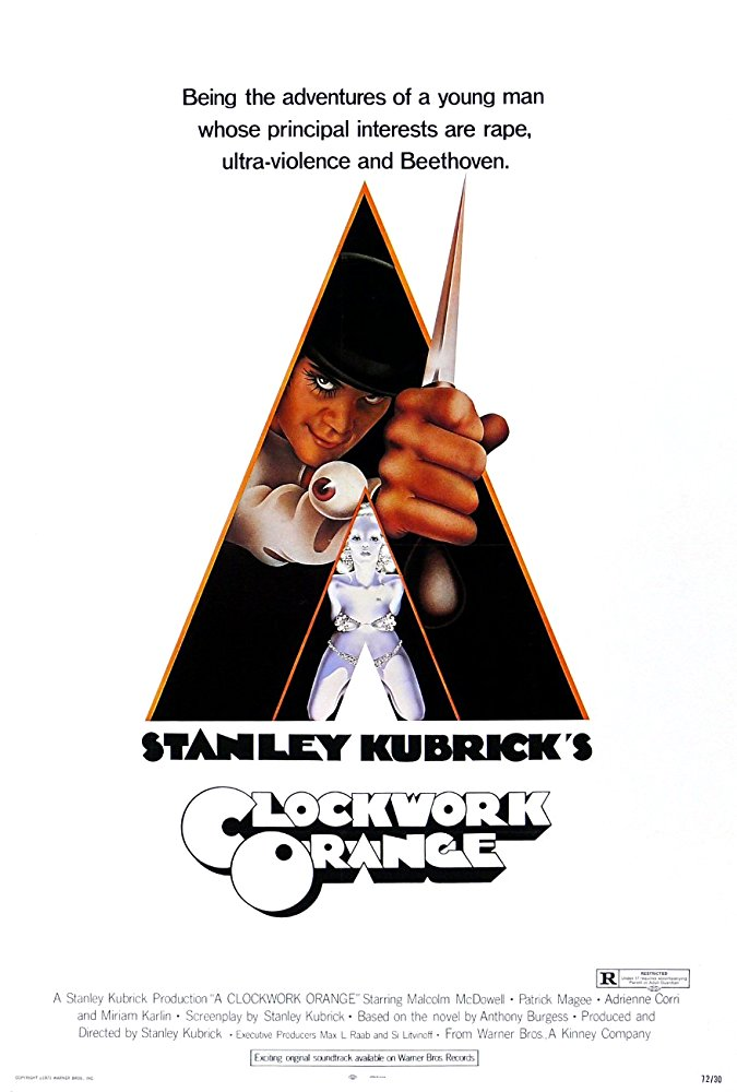 La naranja mecánica - A clockwork orange, 1971