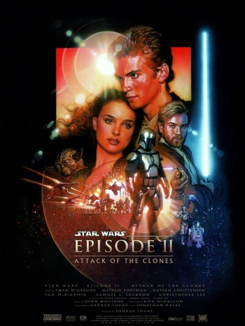 Star wars. episodio II, El ataque de los clones - Star Wars. Episode II: Attack of the Clones, 2002