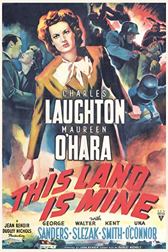 Esta tierra es mía - This land is mine, 1943.