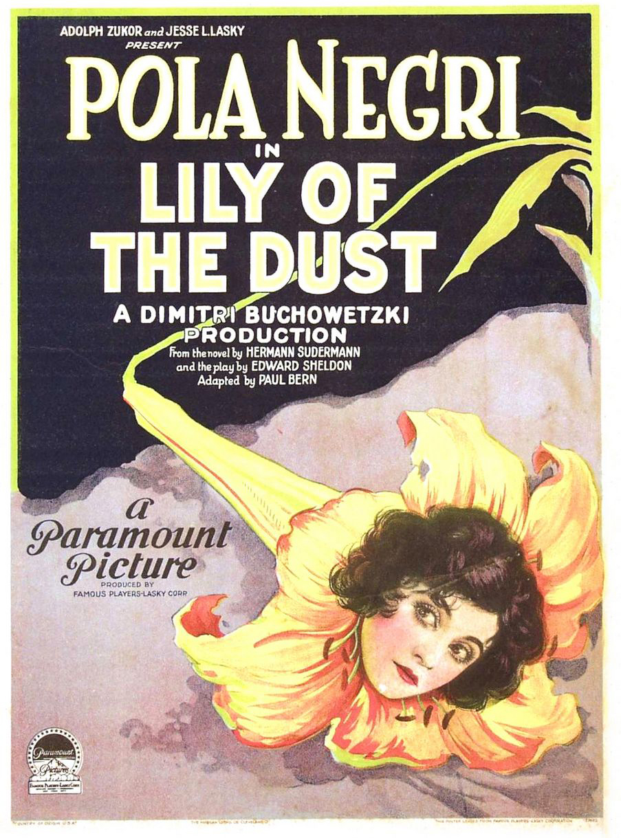 Lily of the dust, 1924