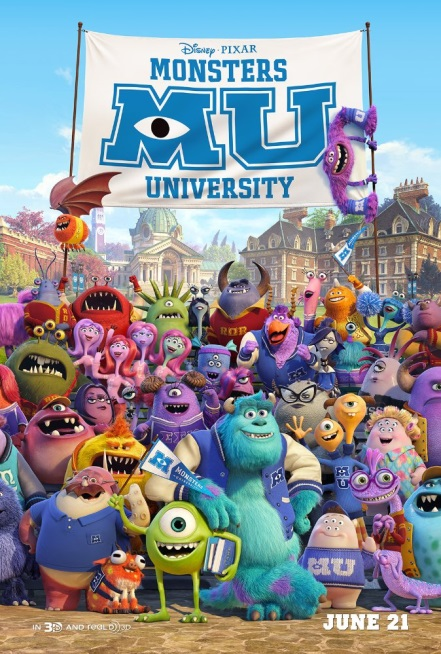 Monstruos University - Monsters University, 2013