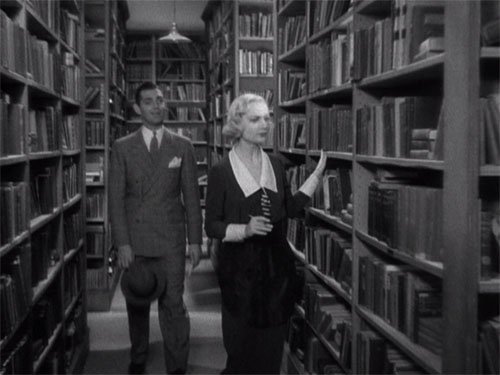 "Clark Gable y por Carole Lombard en ""No man of her own - Casada por azar"""