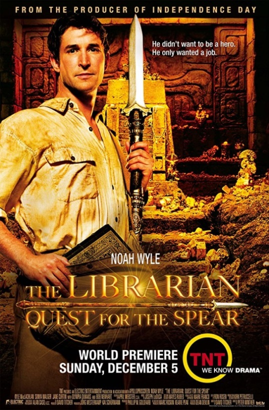The librarian: En busca de la lanza perdida - The librarian: quest for the spear, 2004